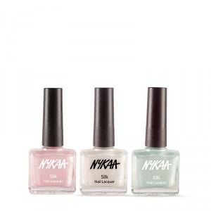 Buy Nykaa Silky Affair Nail Enamel Combo - Nykaa