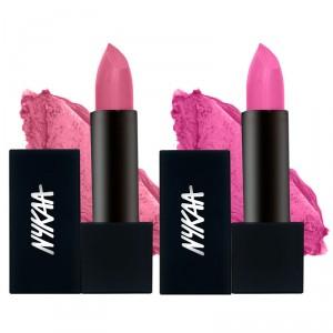 Buy Nykaa So Matte! So Much Love Lipstick Combo - Nykaa