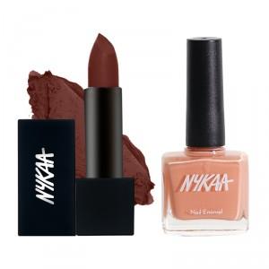 Buy Nykaa Sugar High! Lips & Nails Combo - Nykaa