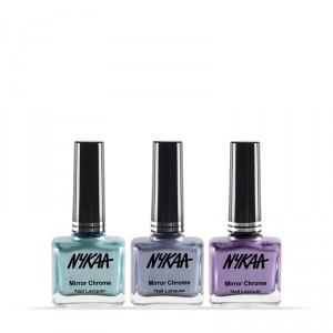 Buy NykaaMirrorChromeNail Lacquer Best of 3 Combo 2 - Nykaa