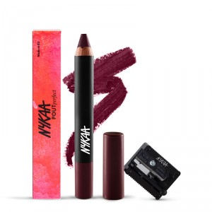 Buy Nykaa Pout Perfect Lip & Cheek Crayon - Please Plum Me 01 + Nykaa Prove Your Point Cosmetic Sharpener Combo - Nykaa