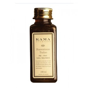 Buy Herbal Kama Ayurveda Dhanwantaram Thailam pre-post natal Treatment Oil - Nykaa