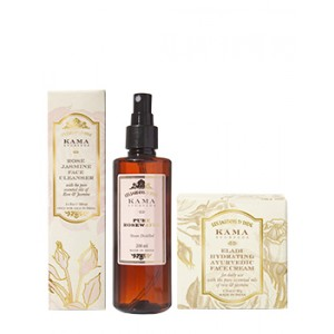 Buy Herbal Kama Ayurveda Daily Face Care Regime for Women - Nykaa