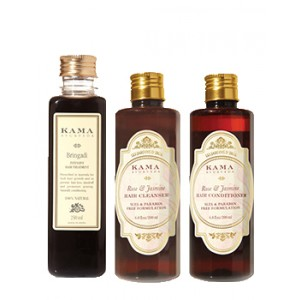 Buy Kama Ayurveda Hair Care Regime - Nykaa