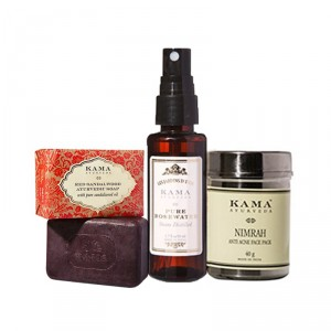Buy Kama Ayurveda Acne-Free Care Regime - Nykaa