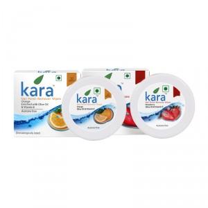 Buy Kara Nail Polish Remover Wipes Combo - Strawberry & Orange - Nykaa