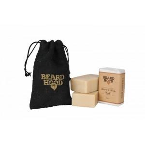 Buy Beardhood Beard & Body Bath Soap Luxury Bar - Nykaa