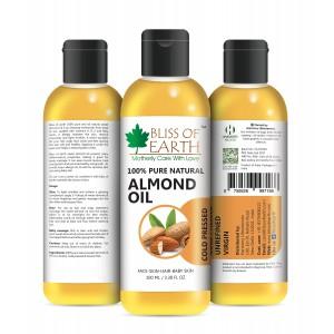 Buy Bliss Of Earth Almond Oil - Nykaa
