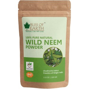 Buy Bliss Of Earth Neem Leave Powder - Nykaa