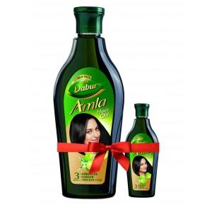 Buy Dabur Amla Hair Oil + Free Dabur Amla Oil Worth Rs. 20 - Nykaa