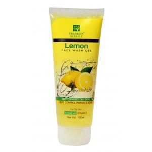 Buy Franklin Herbals Lemon Face Wash Gel - Nykaa