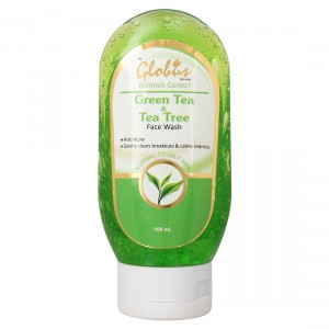 Buy Globus Remedies Green Tea & Tea Tree Face Wash - Nykaa