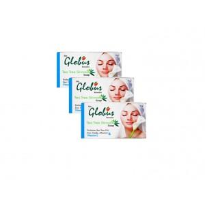 Buy Globus Remedies Tea Tree Skincare Soap (Pack Of 3) - Nykaa