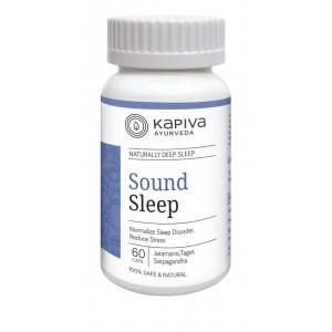 Buy Kapiva Ayurveda Sound Sleep 60 Capsules - Nykaa