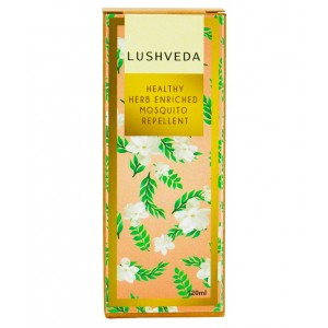 Buy Lushveda Healthy Herb Enriched Mosquito Repellent - Nykaa