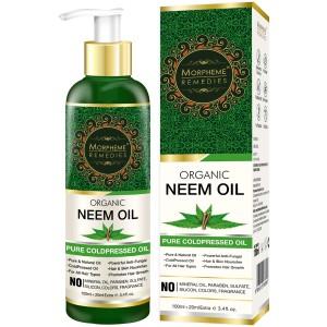 Buy Morpheme Remedies Pure Coldpressed Organic Neem Oil - Nykaa