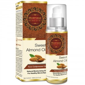 Buy Morpheme Remedies Pure Coldpressed Sweet Almond Oil - Nykaa