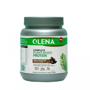 Buy Olena Complete Plant Protein True Chocolate Naturally Flavored - Nykaa