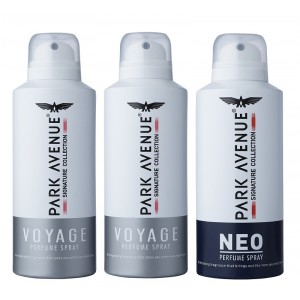 Buy Park Avenue Signature Deo - 2 Voyage + Neo (Buy 2 Get 1) (Off Rs.240) - Nykaa