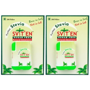 Buy Sviten Stevia Natural Sweetener Tablet Dispenser (Pack Of 2) - Nykaa