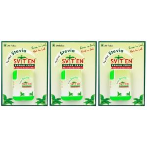 Buy Sviten Stevia Natural Sweetener Tablet Dispenser (Pack Of 3) - Nykaa