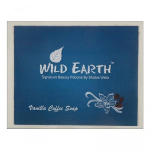Buy Wild Earth Vanilla Coffee Loofah Soap - Nykaa