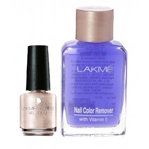 Buy Lakme Absolute Gel Stylist Nail Polish - Ivory Dust + Lakme Nail Colour Remover With Vitamin E - Nykaa