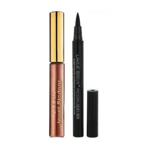 Buy Lakme Jewel Sindoor - Maroon + Lakme Absolute Precision Liquid Liner - Nykaa