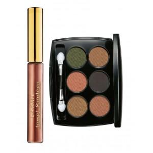 Buy Lakme Jewel Sindoor - Maroon + Lakme Absolute Illuminating Eye Shadow - Palette Gold - Nykaa