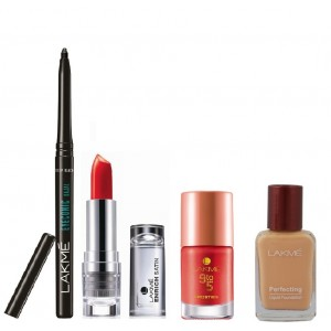 Buy Lakme Daily Essential Red Kit - Nykaa