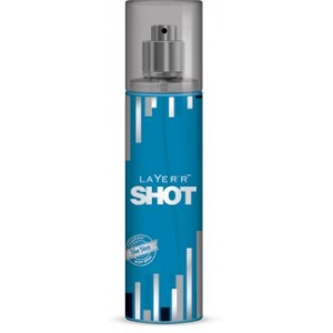 Buy Layer'r Shot Blue Blaze Body Mist - Nykaa