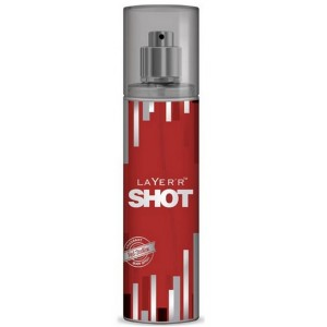 Buy Layer'r Shot Red Stallion Body Mist - Nykaa