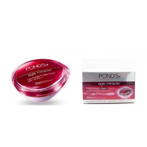 Buy Herbal Ponds Age Miracle Daily Resurfacing Cream + Ponds Age Miracle Night Cream  - Nykaa