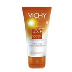 Buy Vichy Capital Soleil Protective Sun Cream Face SPF 50+ - Nykaa