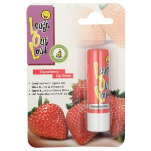 Buy Laugh Out Loud Strawberry Lip Balm - Nykaa