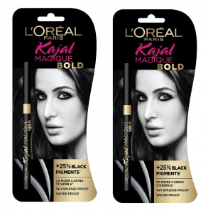 Buy L'Oreal Paris Kajal Magique Bold (Pack of 2) - Nykaa