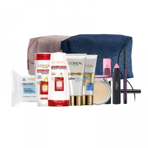 Buy L'Oreal Paris Travel Kit (Light) - Nykaa