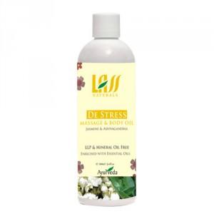 Buy Lass Naturals De Stress Massage & Body Oil - Nykaa