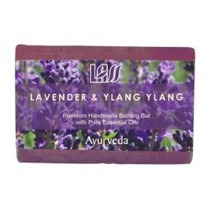 Buy Lass Naturals Lavender & Ylang Ylang Soap - Nykaa