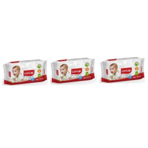 Buy LuvLap Paraben Free Baby Wet Wipes (Pack OF 3) - Nykaa