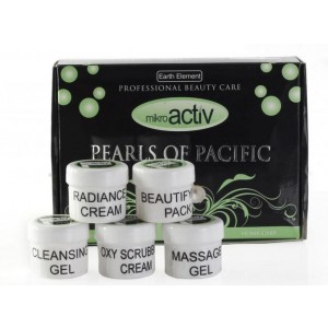 Buy Mikroactiv Pearls Of Pacific Facial Kit (Set of 5) (Buy 1 Get 1) - Nykaa
