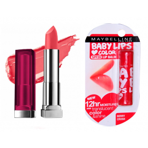 Buy Buy Maybelline New York Color Sensational Lip Color - Barely Brown & Get Baby Lips Color Balm Free - Nykaa