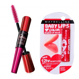 Buy Buy Maybelline New York Falsies Push Up Drama Mascara - Waterproof & Get Baby Lips Color Balm Free - Nykaa