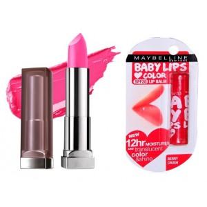 Buy Buy Maybelline New York Color Sensational Creamy Matte Lipstick - Faint For Fuschia & Get Baby Lips Color Lip Balm Free - Nykaa