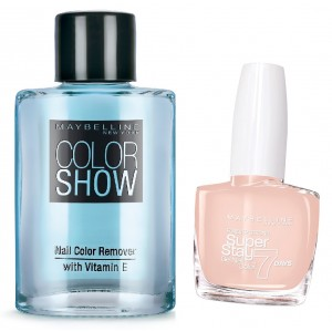 Buy Maybelline New York Forever Strong Super Stay 7 Days Gel Nail Color - 76 French Manicure + Free Color Show Nail Color Remover - Nykaa