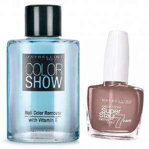 Buy Maybelline New York Forever Strong Super Stay 7 Days Gel Nail Color - 778 Rosy Sand + Free Color Show Nail Color Remover - Nykaa