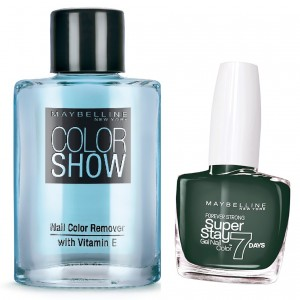 Buy Maybelline New York Forever Strong Super Stay 7 Days Gel Nail Color - 869 Emerald + Free Color Show Nail Color Remover - Nykaa