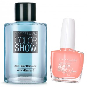 Buy Maybelline New York Forever Strong Super Stay 7 Days Gel Nail Color - 873 Sun Kissed + Free Color Show Nail Color Remover - Nykaa