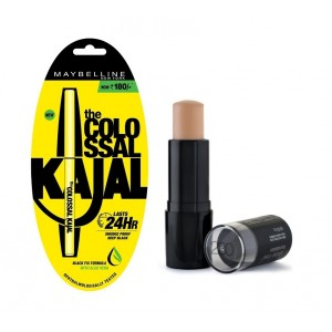 Buy Maybelline New York Fit Me Shine Free Stick Foundation - 130 Buff Beige + Free Colossal Kajal 24HR - Nykaa
