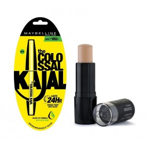 Buy Maybelline New York Fit Me Shine Free Stick Foundation - 235 Pure Beige + Free Colossal Kajal 24HR - Nykaa